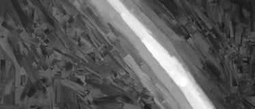 Diagonal black and white strokes illustration background Royalty Free Stock Photo