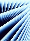 Diagonal Blue Lines Stripes Stock Photos