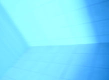 Diagonal blue perspective motion blur abstraction Stock Photography