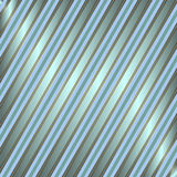 Diagonal blue and silvery striped background Stock Photos