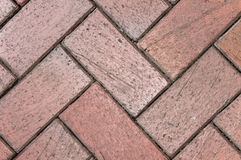Diagonal Brick Texture Royalty Free Stock Image