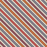 A diagonal brilhante das cores listra o fundo abstrato Linha de inclinação fina papel de parede Teste padrão sem emenda com motiv Fotografia de Stock Royalty Free