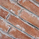 Diagonal brown brick wall Stock Photos