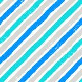 Diagonal brushes seamless pattern Stock Photo