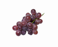 Diagonal of a bunch of grapes Royalty Free Stock Photos