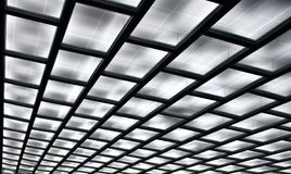 Diagonal of ceiling Royalty Free Stock Photos