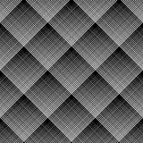 Diagonal checked pattern. Seamless geometric texture. Stock Images