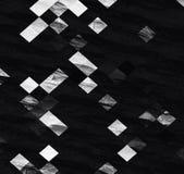 Diagonal checkerboard pattern wallpaper. Diagonal checkerboard pattern black and white color background Royalty Free Stock Photography