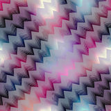 Diagonal chevron on blur background Stock Photography
