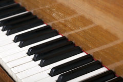 Piano Close Up Stock Image