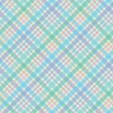 Diagonal and colorful plaid vector repeat pattern vector illustration