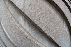 Diagonal concrete lines Royalty Free Stock Image