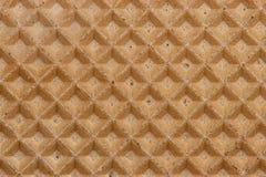 Diagonal da textura do Waffle Imagens de Stock Royalty Free