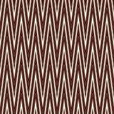 A diagonal de Chevron listra o teste padrão sem emenda com o ornamento geométrico clássico O ziguezague do esboço alinha o papel  Foto de Stock