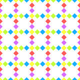 Diagonal diamond squares seamless pattern Stock Image