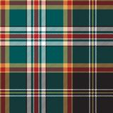 Diagonal fabric texture seamless pattern check plaid. Vector illustration Stock Photography