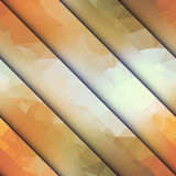 Diagonal geometric with different surfaces Stock Image