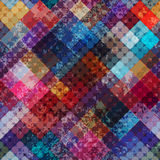 Diagonal geometric grunge pattern. Stock Images