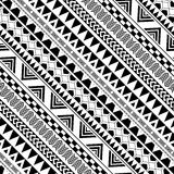 Diagonal geometric pattern in Native Americans Royalty Free Stock Image