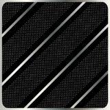 Diagonal geometric pattern. Diagonal stripes geometric pattern. Abstract black background with metallic diagonal stripes and polka dots. Digital Illustration Royalty Free Stock Image