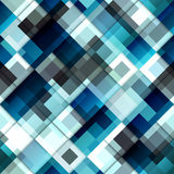 Diagonal geometric pattern with the transparency. Stock Image