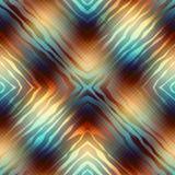 Diagonal geometric pattern with wavy elements Stock Photos