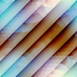 Diagonal geometric strikes with different textures Royalty Free Stock Photography