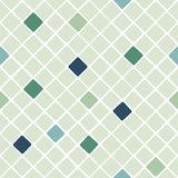 Diagonal geometric tiles pattern Stock Photos