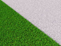 Diagonal grass Stock Photos