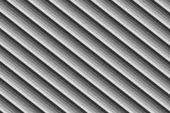 Diagonal gray lines gradient ribbed base monochrome parallel stripes background geometric Stock Photography
