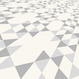 Diagonal gray triangle tile walkway texture with a Stock Photography