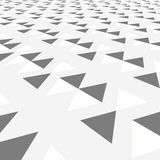 Diagonal gray triangle tile walkway texture with a Stock Photo