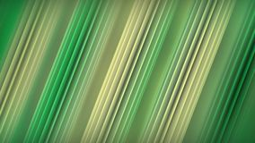 Diagonal green lines abstract 3D rendering. Diagonal green lines. Abstract 3D rendering Royalty Free Stock Photo