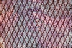 Diagonal Grid Grunge Background Royalty Free Stock Photo