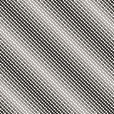 Diagonal halftone mesh seamless pattern. Texture of net, lace. Stock Image