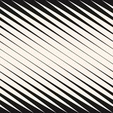 Diagonal halftone stripes seamless pattern, vector slanted parallel lines. vector illustration