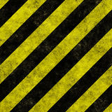 Diagonal hazard stripes seamless texture Stock Photo