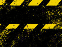 Diagonal hazard stripes texture. EPS 8 Royalty Free Stock Image