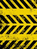 Diagonal hazard stripes texture. EPS 8 Stock Photos