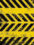 Diagonal hazard stripes texture. EPS 8 Stock Photos