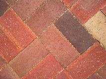 Diagonal Herringbone Brick Pattern Stock Images