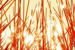 Diagonal holiday fireworks illustration background. Hd Stock Photo