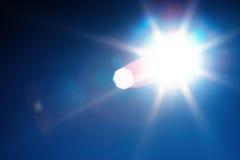 Diagonal instagram glowing sun flare background Stock Image