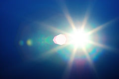 Diagonal instagram glowing sun flare background royalty free stock images