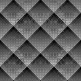 Diagonal kontrollerad modell geometrisk seamless textur Arkivbilder