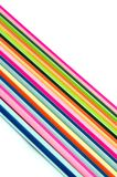 Diagonal of line multicolor Royalty Free Stock Photography