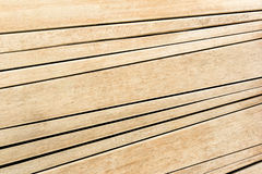 Diagonal line of wooden plank background Royalty Free Stock Image