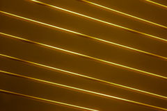Diagonal lines Gold Stock Photo
