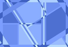 Diagonal Lines Pattern in Blue Royalty Free Stock Image