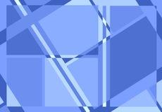 Diagonal Lines Pattern In Blue